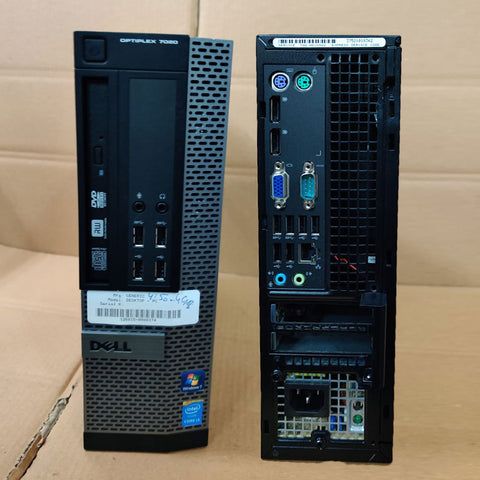 Dell Optiplex 7020 SFF Desktop / Core i7 / 4th Gen / 4 GB RAM / 500 GB HDD with 15 Days Warranty - ThinPC