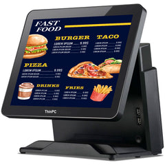 TPC i5 Capacitive Touch Screen POS System / 4GB RAM / 64 GB SSD / DOS - ThinPC