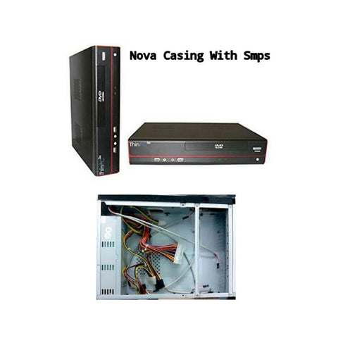 Mini itx nova casing with smps for thin client & mini pc