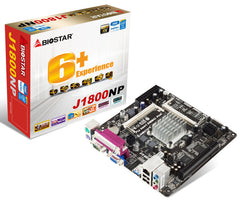 Biostar J1800NP On board Intel Dual-core Celeron J1800(2.41GHz) - ThinPC