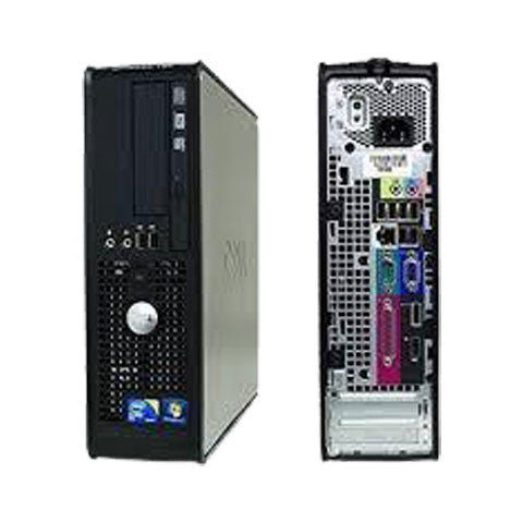 Dell OptiPlex 780 Desktop(Intel Core 2 Duo Processor 2.93 GHz / 2 GB RAM / 250 GB HDD) - ThinPC