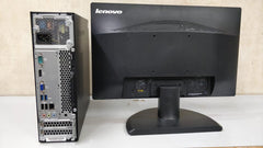 Used Lenovo S510 SFF / Core i5 6th Generation / 4 GB RAM / 500 GB RAM / DVD / 18.5 led / keyboard and mouse - ThinPC