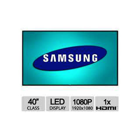 "samsung ED40D 40"" led with IR 10Touch Touch screen"