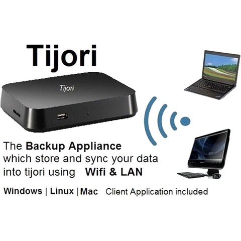 Tijori-01 (Backup + NAS + FTP Server + Cloud Backup Optional)