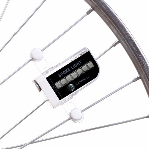 Gofuly 14 LED Motorcycle Cycling Bicycle Bike Wheel Signal Tire Spoke Light 30 Changes 3 Modes Bicycle Spoke Light free shipping