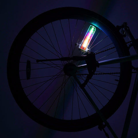 Amazing Colorful Bicycle Lights LED 32-pattern Waterproof