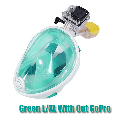 Full face anti fog diving/scuba mask