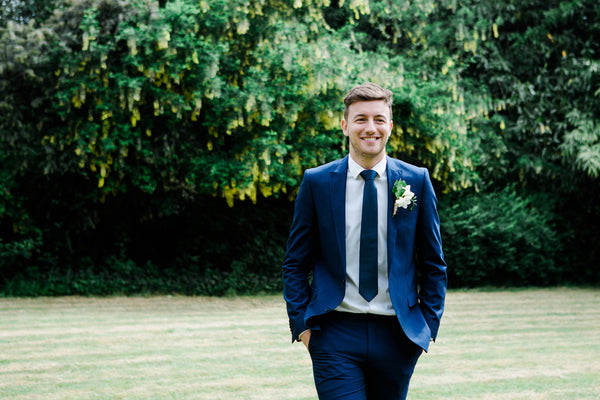 Modern Groom at Berrow Court