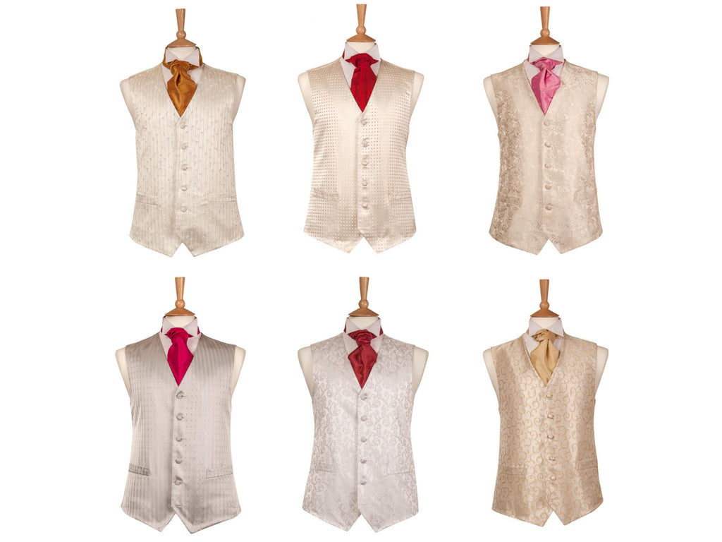 waistcoats for hire traditional satin