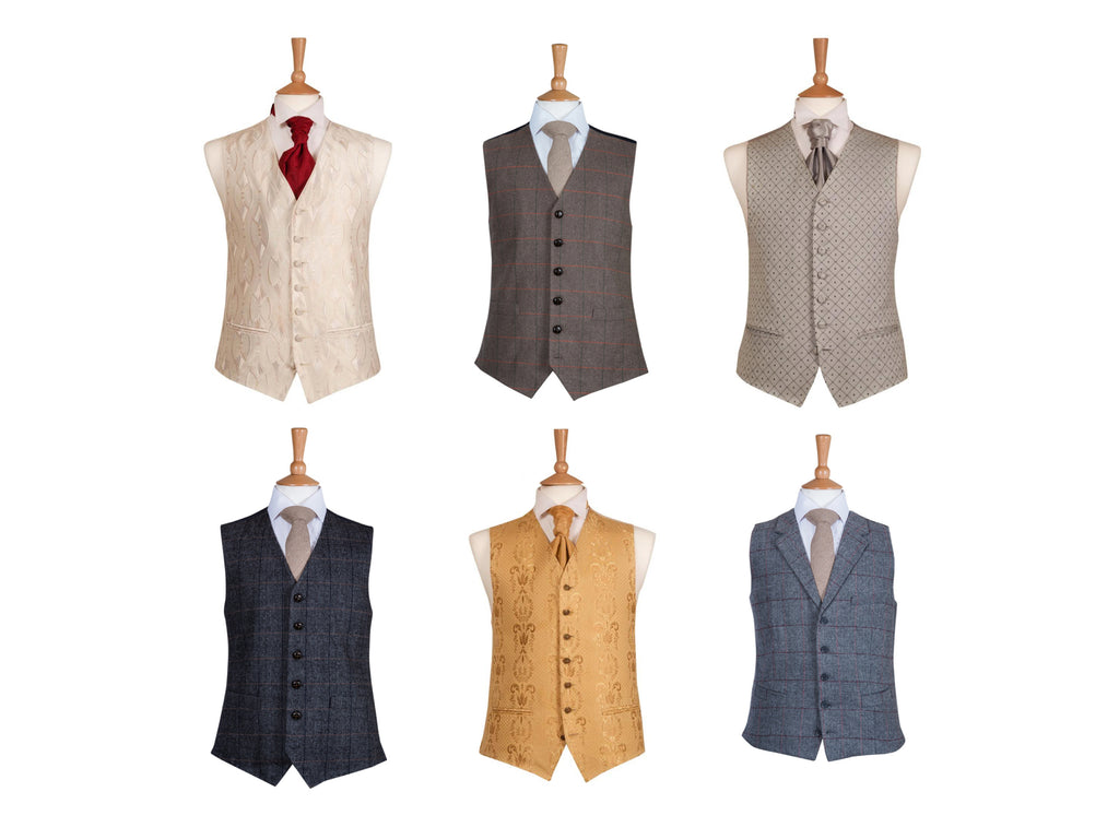 waistcoats country chic trendy hire