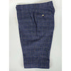 Blue Matteo Suit Tweed Check 3 Piece