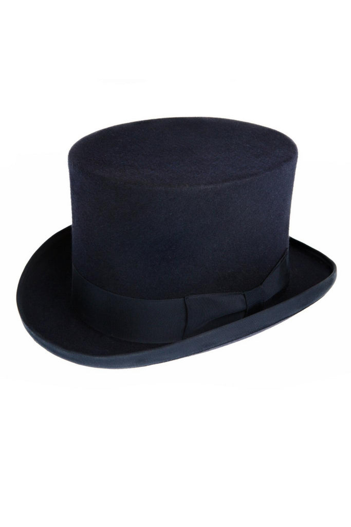 MENS BLACK WOOL NEW ROYAL ASCOT TOP HAT