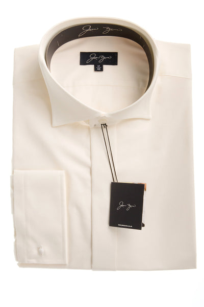 ivory cream mens formal shirt workwear