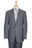 mens silver grey suit suits jacket blazer classic fit work wear