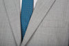 Mens Pure Wool Silver Grey Blazer Jacket