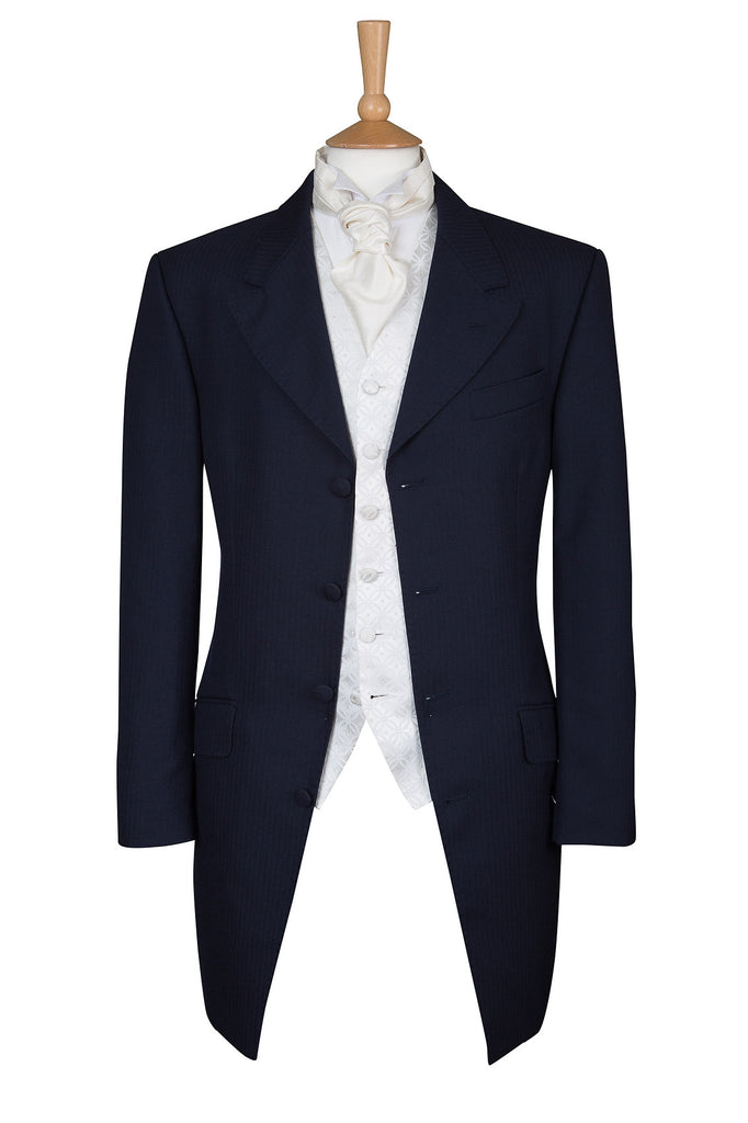 NAVY BLUE PRINCE EDWARD JACKET - EX HIRE