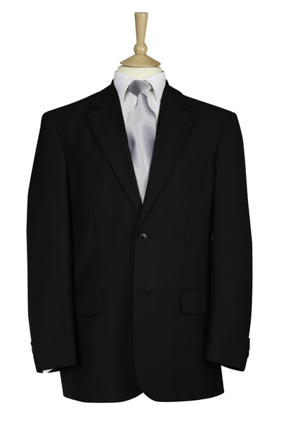 black masonic funeral suit jacket