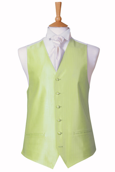 Lime green mint wedding waistcoat formal pastel rainbow