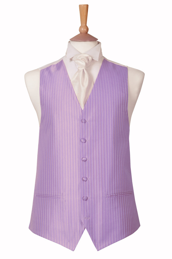 lilac purple wedding waistcoat formal menswear