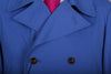 COBALT BLUE COAT JACKET REEFER STYLE
