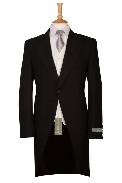 Black Three Piece Tailcoat Perfect For weddings And Royal Ascot Ex Hire