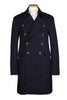 Navy Military Mens Trench Coat
