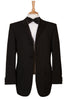 black dinner suit jacket
