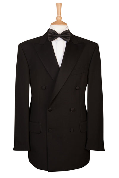black double breasted jacket for dinner suit tuxedo wedding bond
