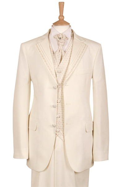 ivory cream wedding suit suits