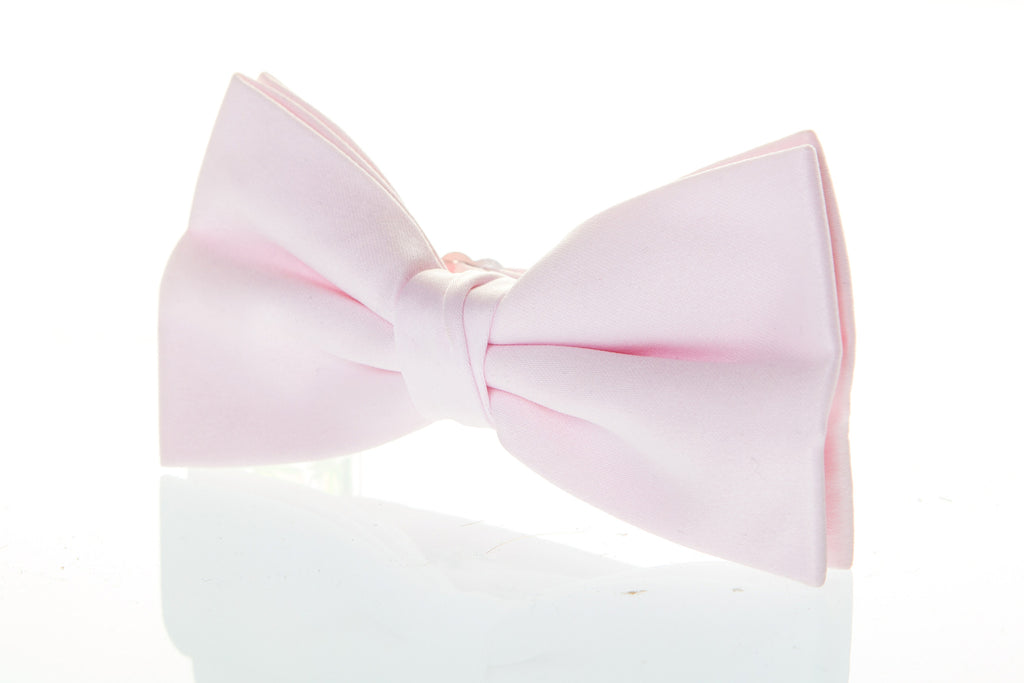bow tie burns night blush pink wedding formal cruise fancy dress