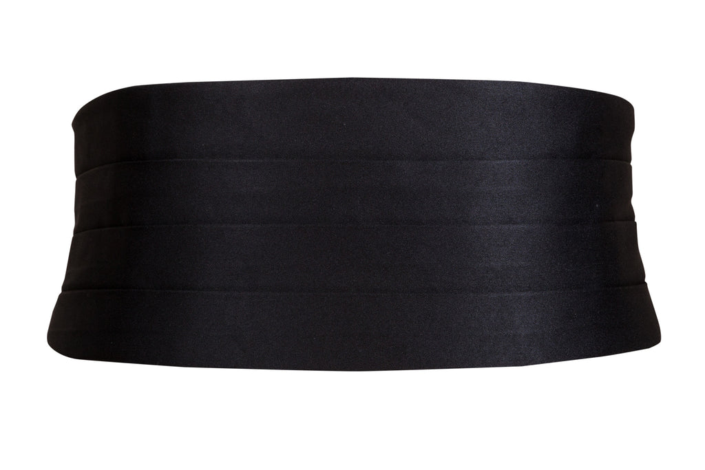 black cummerbund satin tie tuxedo formal wedding mens wear