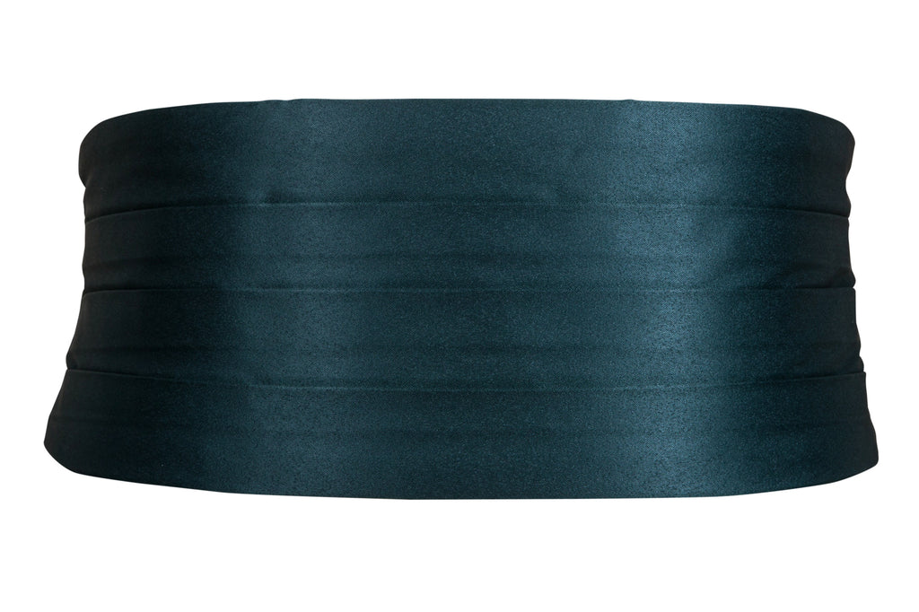 dark green cummerbund for black tie dinner suit tuxedo tux