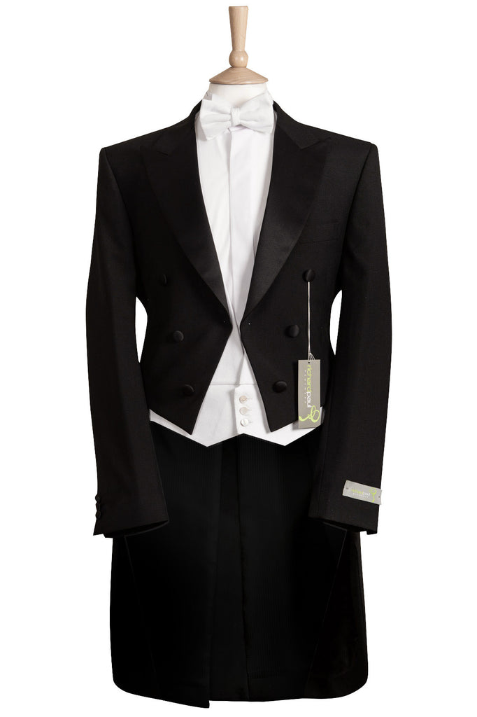 black evening tailcoat tails menswear formal event