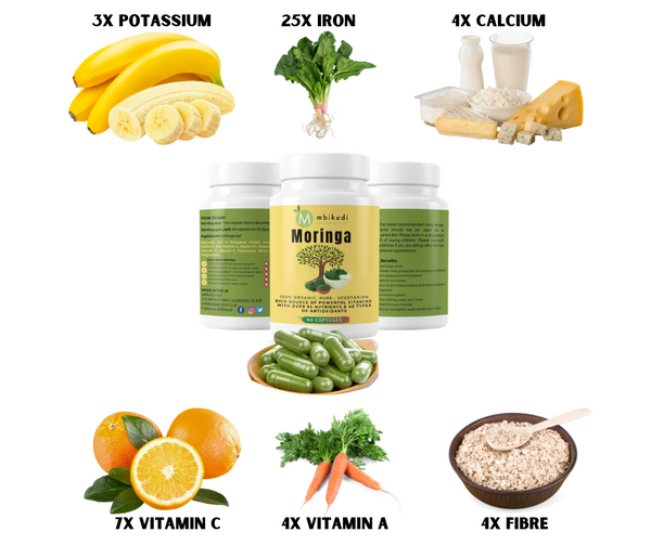 Moringa -Organic Moringa Supplement Pure 100%