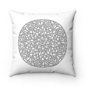 Color A Pillow Coloring Book Pillow Circles