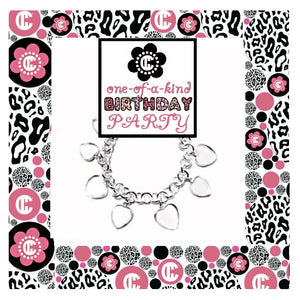 Tiffany Bracelet Birthday Party DIY Jewelry