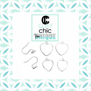 Sterling Silver interchangeable earrings kit