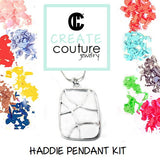 Haddie Pendant  DIY Jewelry Clay Kit