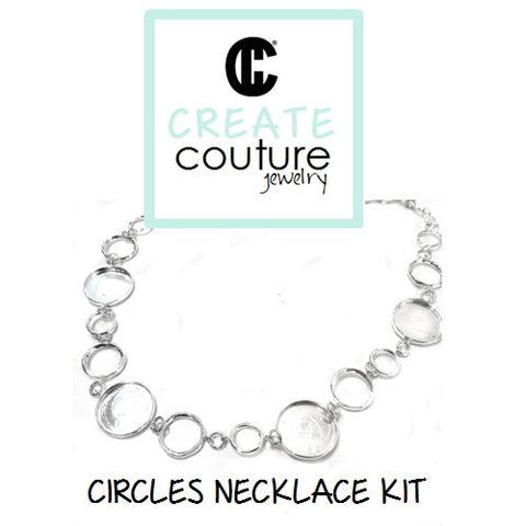 DIY Jewelry Clay Kit - Circles Necklace Kit