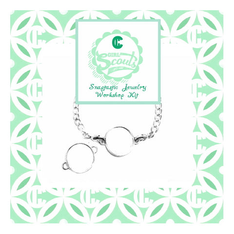 Circles Girl Scout Jewelry Badge DIY Kit