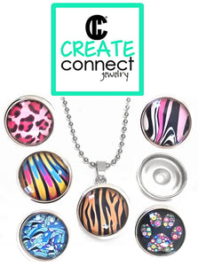 FEATURED: Snap Necklace Pop Art Jewelry Kit - make your own jewelry!