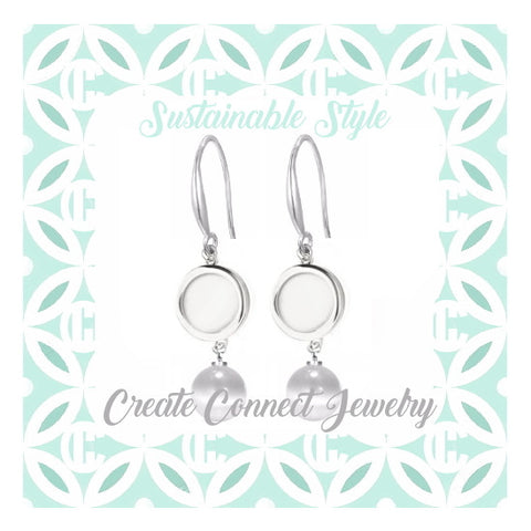 Sustainable Style Charm Pop Earrings