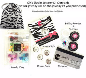 Girl's DIY Jewelry Birthday Party - Johana Bracelet Package for 10
