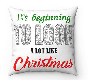 Color A Pillow Coloring Book Pillow Christmas