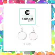 Small Circle Earrings DIY Jewelry Clay Kit
