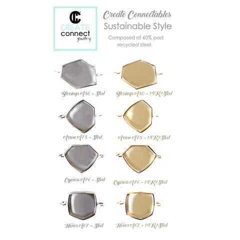 Create Connectables in Sustainable Style Designer Pieces!