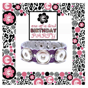 Girl's DIY Jewelry Birthday Party - Lacie Bracelet