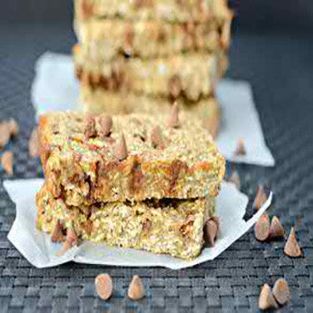 CINNAMON CHIP CARAMEL PROTEIN BARS RECIPE
