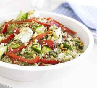 10-MINUTE COUSCOUS SALAD