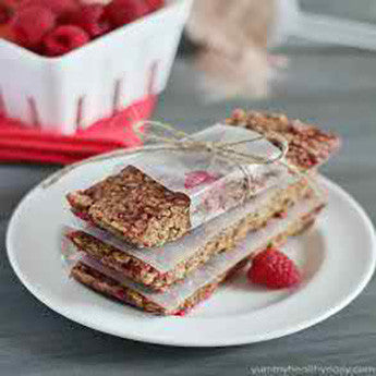 RASPBERRY CHOCOLATE GRANOLA BARS